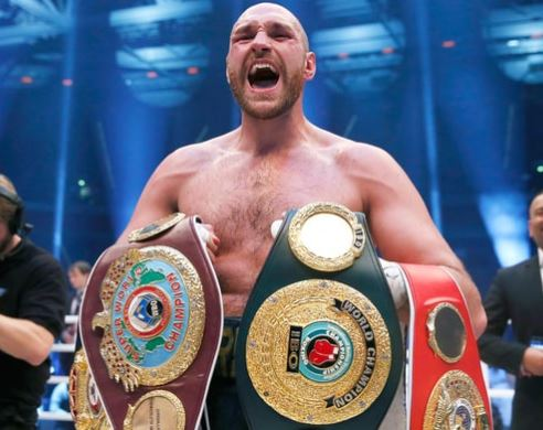 British boxer,?Tyson Fury cleared to resume his boxing career after accepting a backdated two-year doping ban
