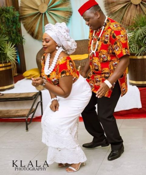 Interesting photos from the traditional wedding of actress  Naomi Nkechi Emmanuel aka Nurse Titi