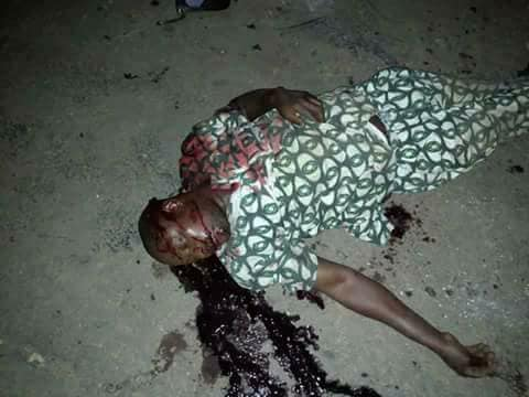 Graphic: Commercial bus driver shot dead for allegedly refusing to give Policemen N50 bribe