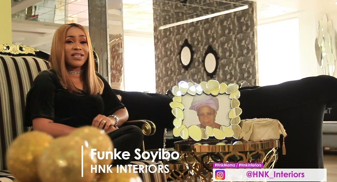 HNK Interior boss, Funke Soyibo has an amazing furniture giveaway for Mums this Christmas!