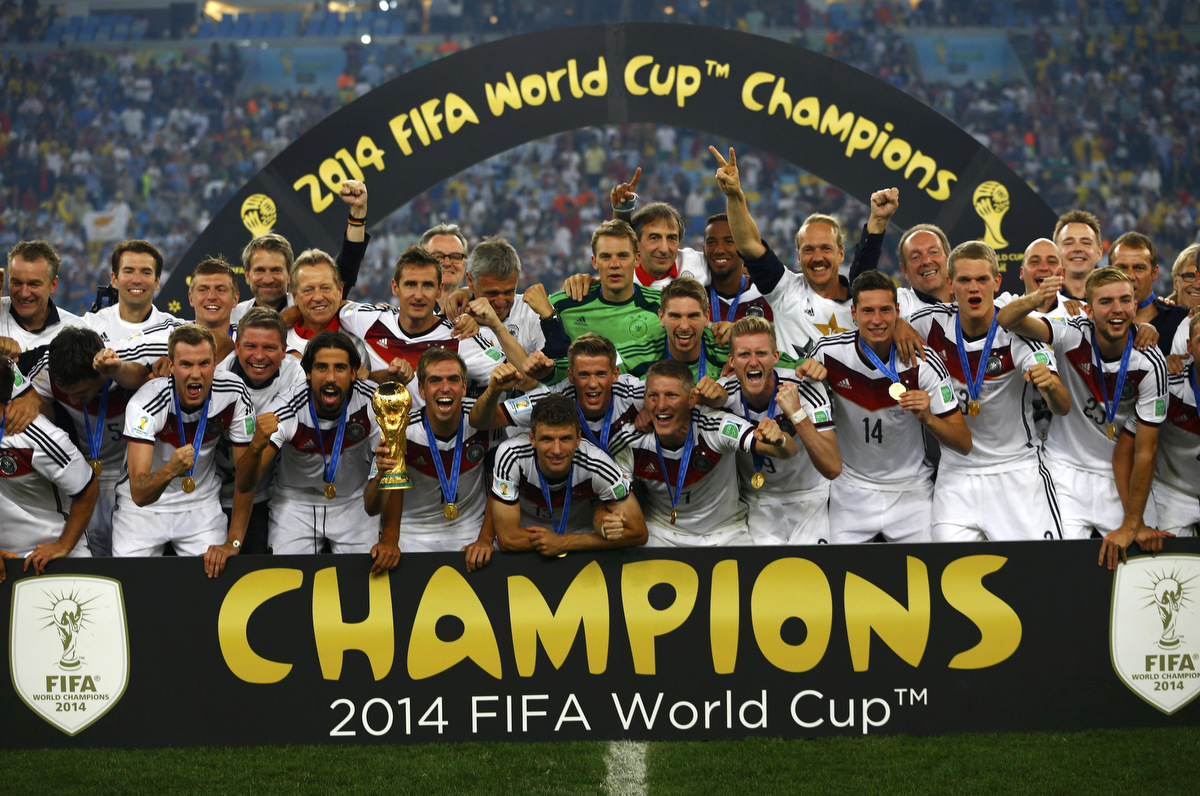 German squad to get N148 million each if they win 2018 World Cup in Russia