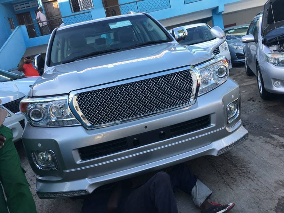 Kenyan politician gives her husband N52m Prado SUV for Christmas, promises to bless over 1000 families in her community (Photo)