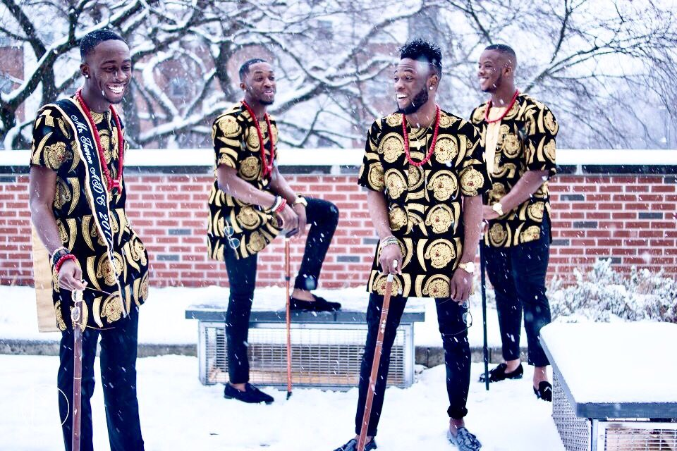 Photos: Check out these young Igbo men looking frosh in their Isiagu