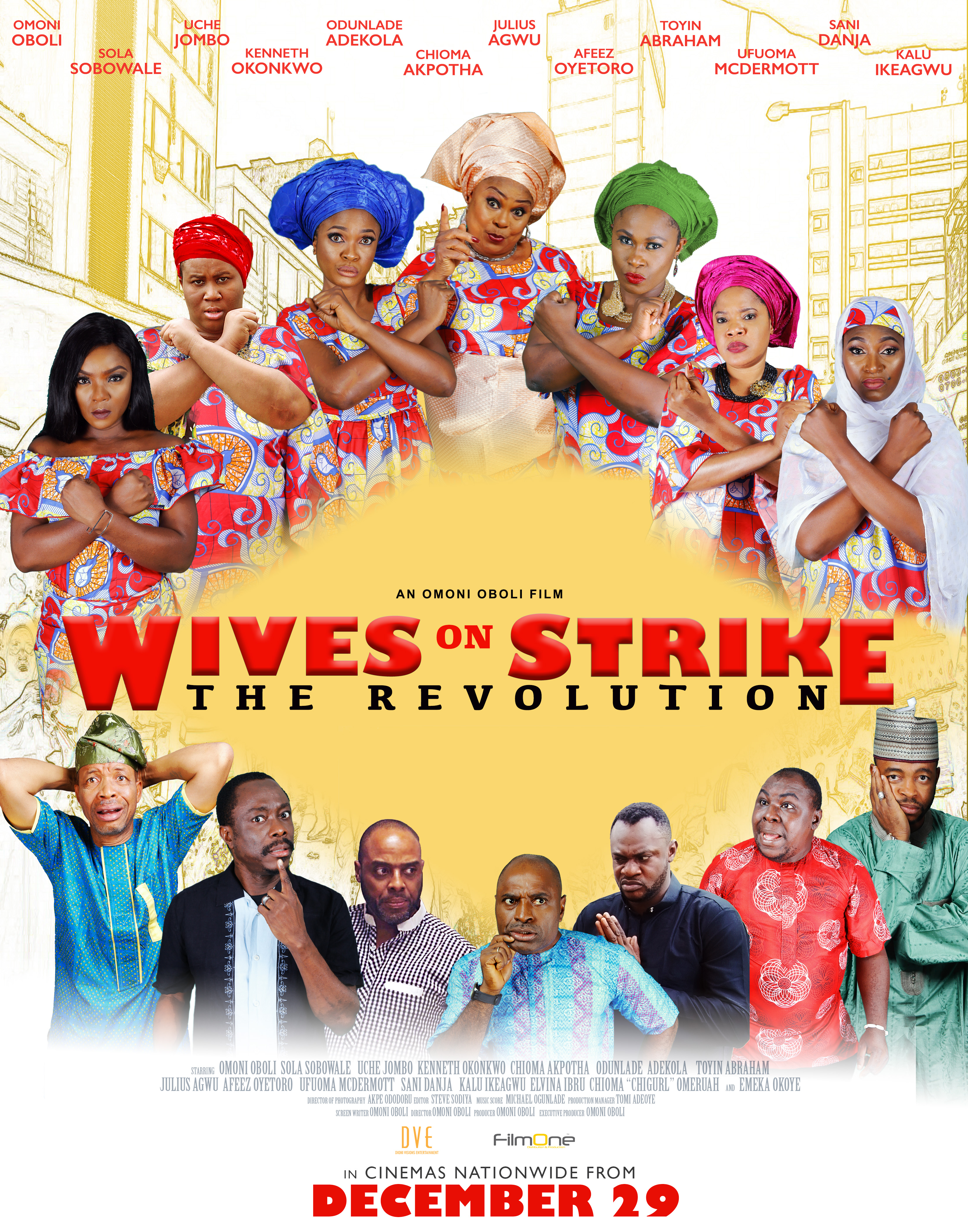 ?Omoni Oboli Boast: Wives on Strike: The Revolution? Will Be the Best Movie in 2018