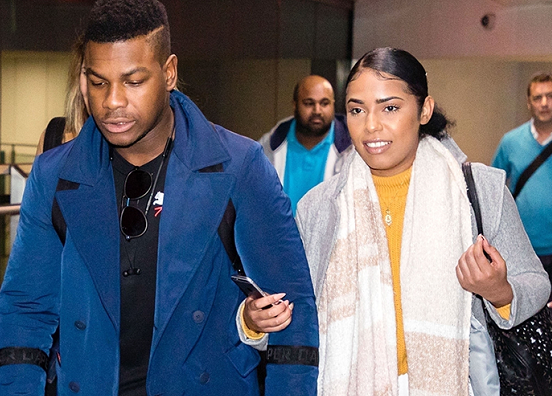 ?Nigerian-British actor John Boyega has a new girlfriend & she