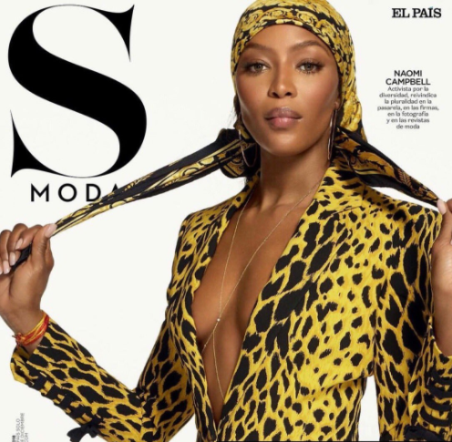 Naomi Campbell looks flawless for S Moda Magazine