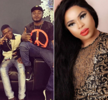 Bobrisky apologizes to Mc Galaxy, says he was not involved in the reason why his gateman, Jacob left his house. See his apology!