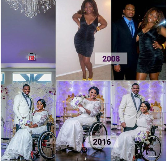 Differently-abled Nigerian blogger recalls how she initially curved her husband when he asked her out before her accident
