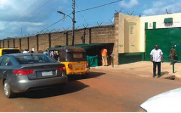 Image result for Drama in Anambra prisons as discharged inmate refuses to go home
