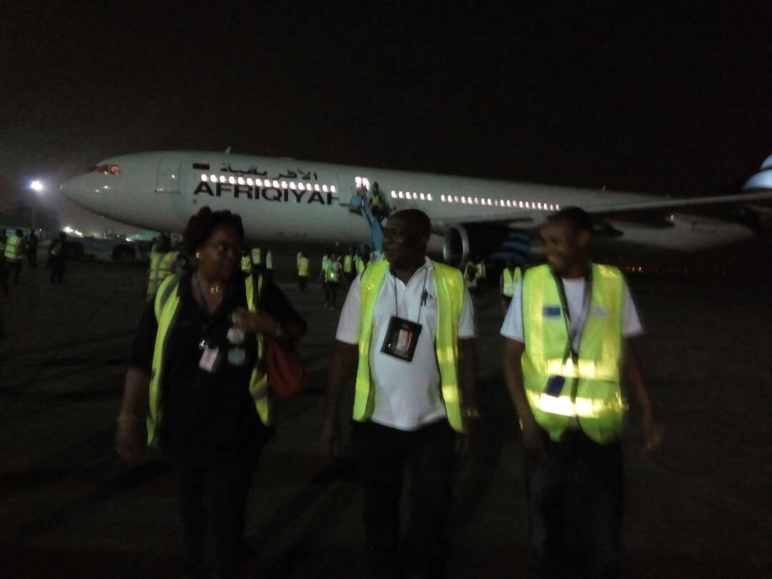 Photos: 249 Nigerians return from Libya