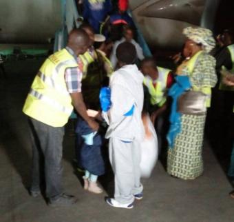 Photos: 249 Nigerians return from Libya