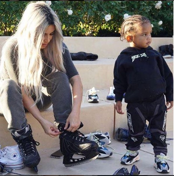 Kim Kardashian and her kids celebrate Mason and Reign