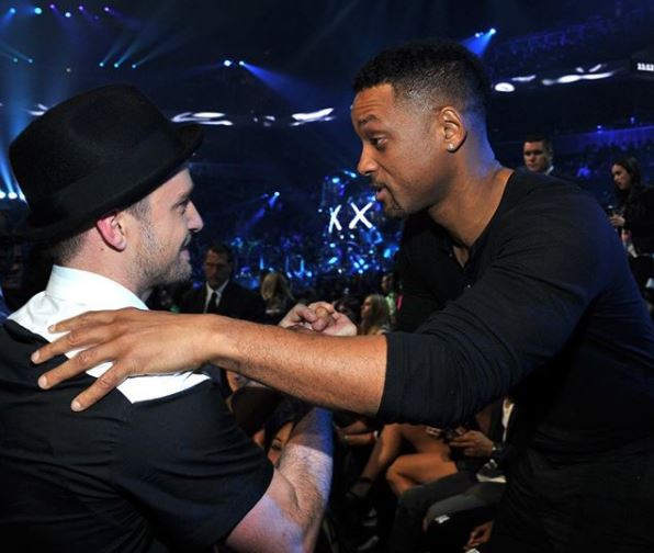 Justin Timberlake welcomes Will Smith to Instagram with a very hilarious message