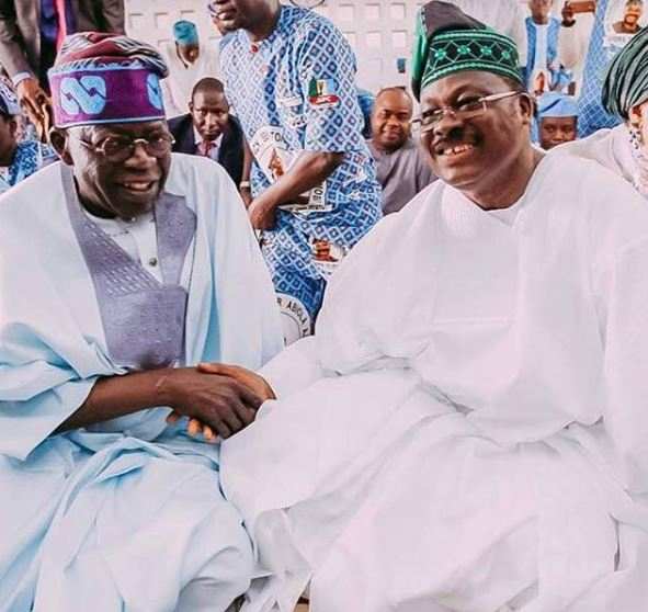 Photos: Asiwaju Bola Tinubu attends the 68th birthday party of Governor Ajimobi in Oyo State
