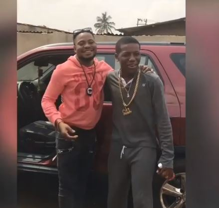 Small Doctor surprises his producer with a Honda CRV SUV