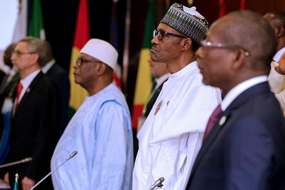 Photos:?President Buhari attends?52nd ECOWAS Heads of State Summit in Abuja