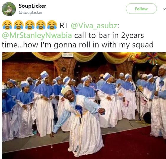 You Nigerians play too much...Lol