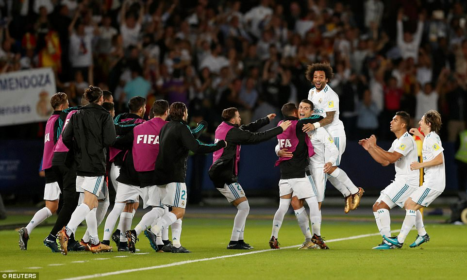 Real Madrid wins FIFA Club World Cup for the third time, becomes first team in history to retain the title (Photos)