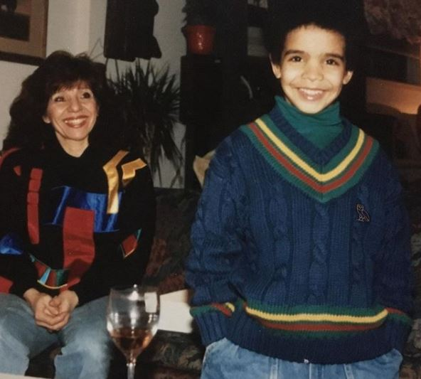 Drake shares cute childhood photos with his mum, Sandi Graham