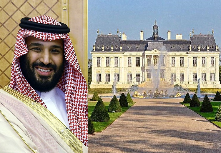 Saudi crown prince splashes $300m on world