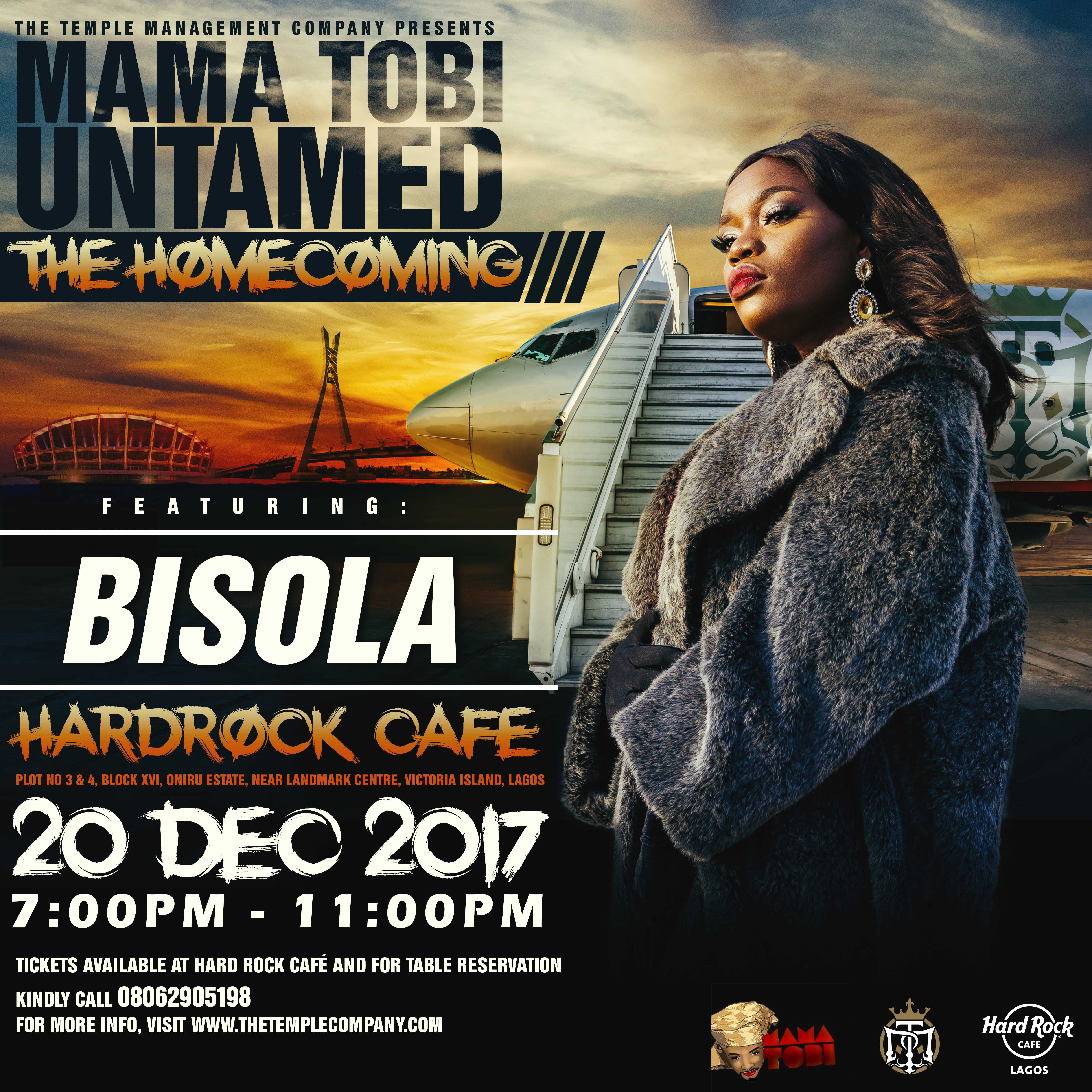 Get Your Tickets! Mama Tobi Homecoming Concert Featuring Olamide, Phyno, Maraji, Lasisi Elenu, Bisola and others
