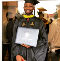 Man graduates with a perfect CGPA for his Masters in USA after being mocked by his dad