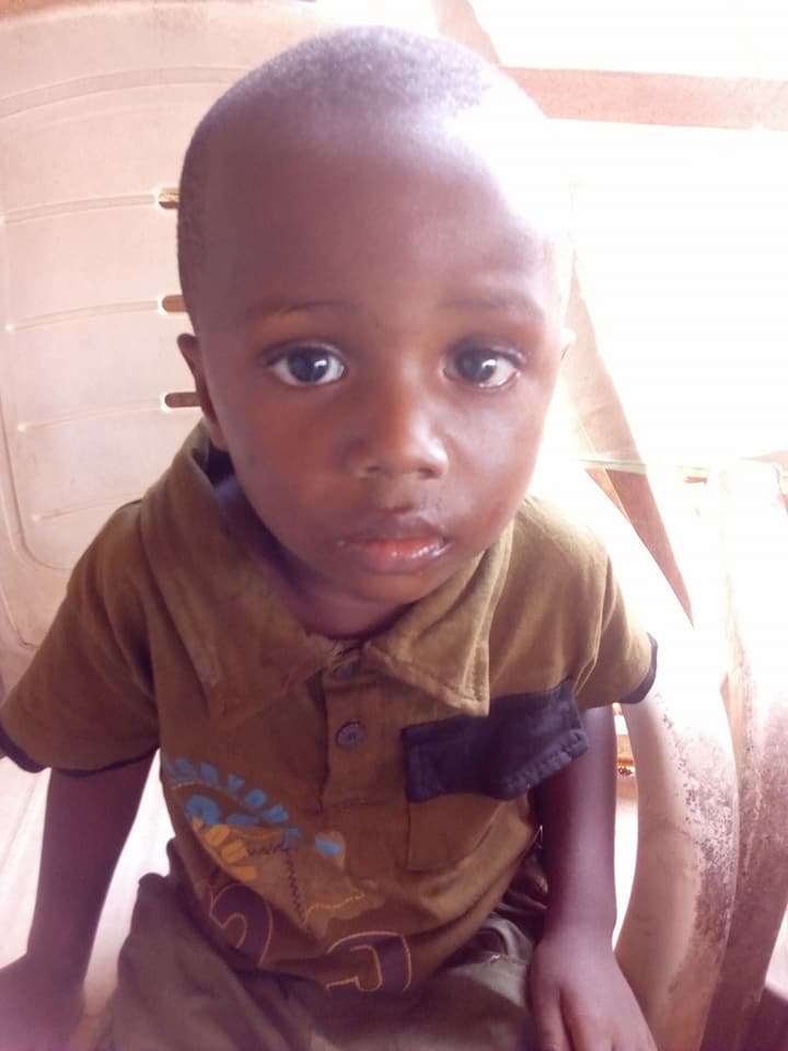 Photos: Little boy who was found wandering in Asaba was actually stolen from his parent