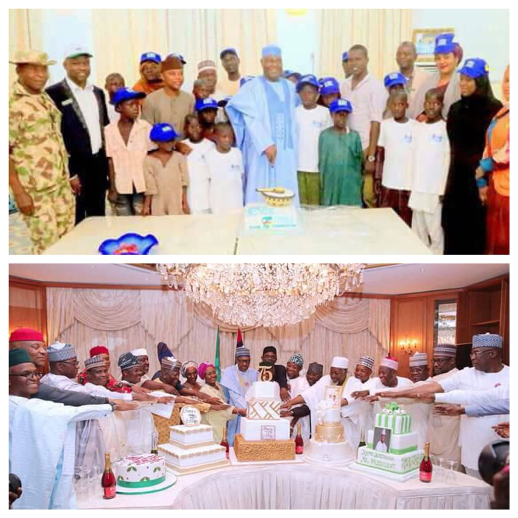 Reno Omokri compares the birthday celebrations of President Buhari and Atiku Abubakar