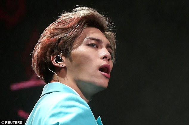 Lead singer of South Korean boy band SHINee