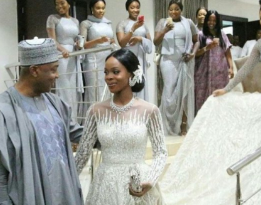 This photo of Senate President Bukola Saraki, and his daughter, Tosin, is melting hearts on social media