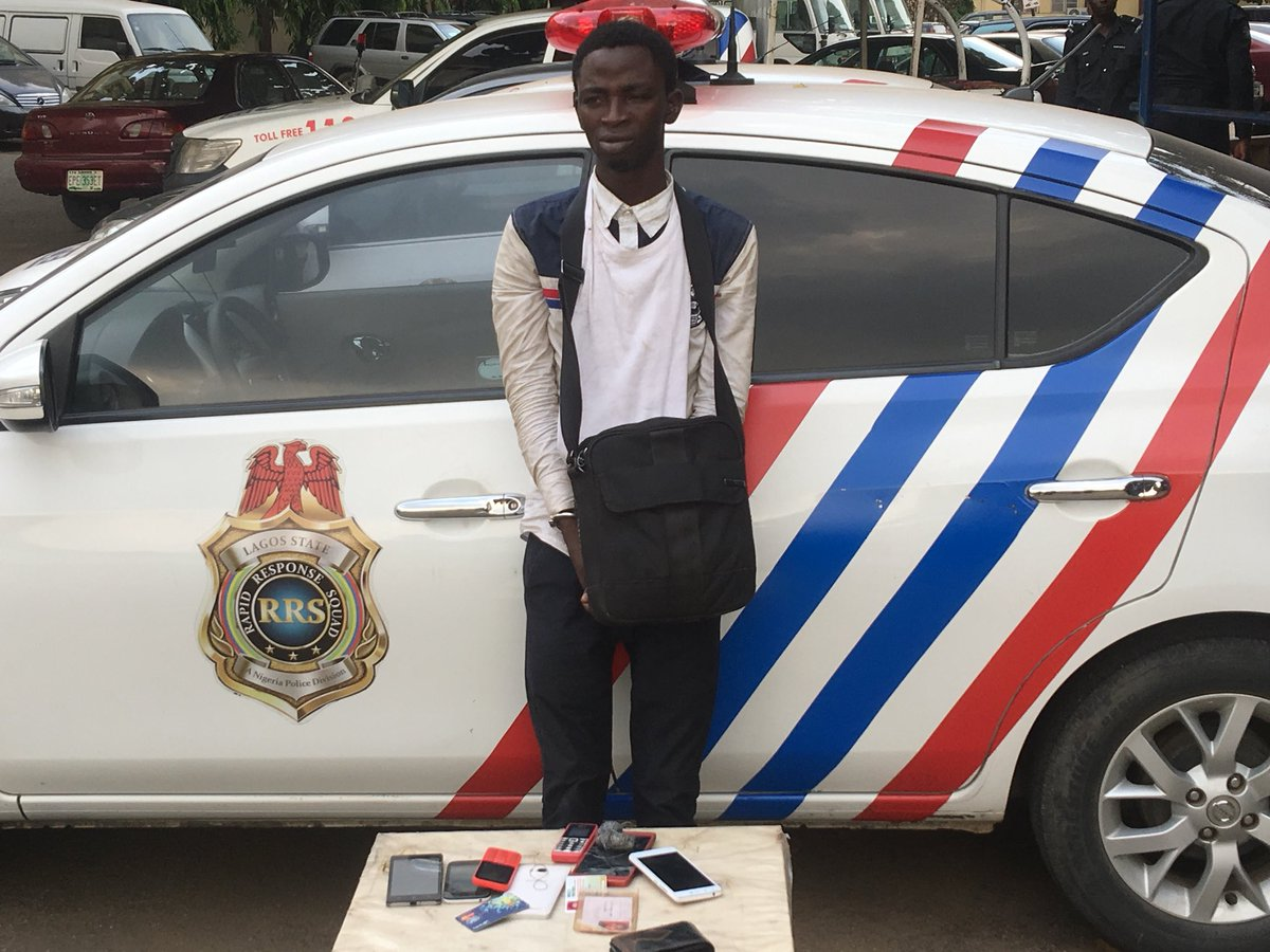RRS arrests pickpocket who robbed worshipers at the just concluded The Experience concert