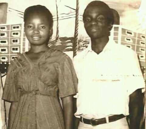 Check out this Throwback photo of billionaire clergyman, Bishop Oyedepo and his wife Faith...
