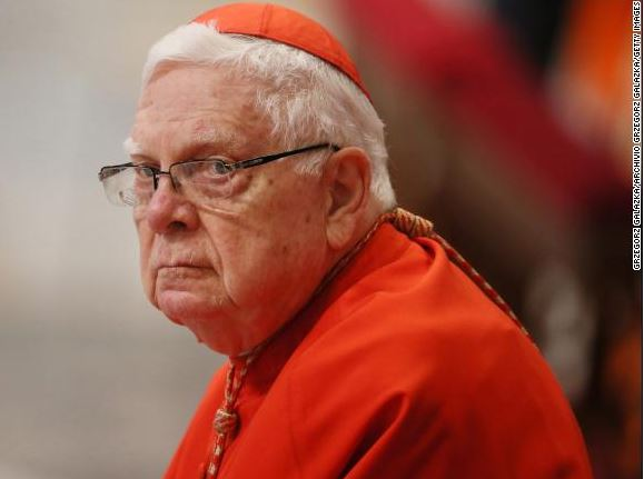 Former cardinal,?Bernard Law who resigned in disgrace during the church sex abuse scandal has died