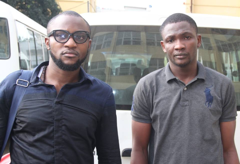 Photos: Ex- Union bank staff and his friend arraigned for N116m Fraud