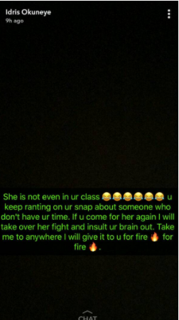Bobrisky drags Rosy Murer on Snapchat after she threw shade at Tonto Dikeh