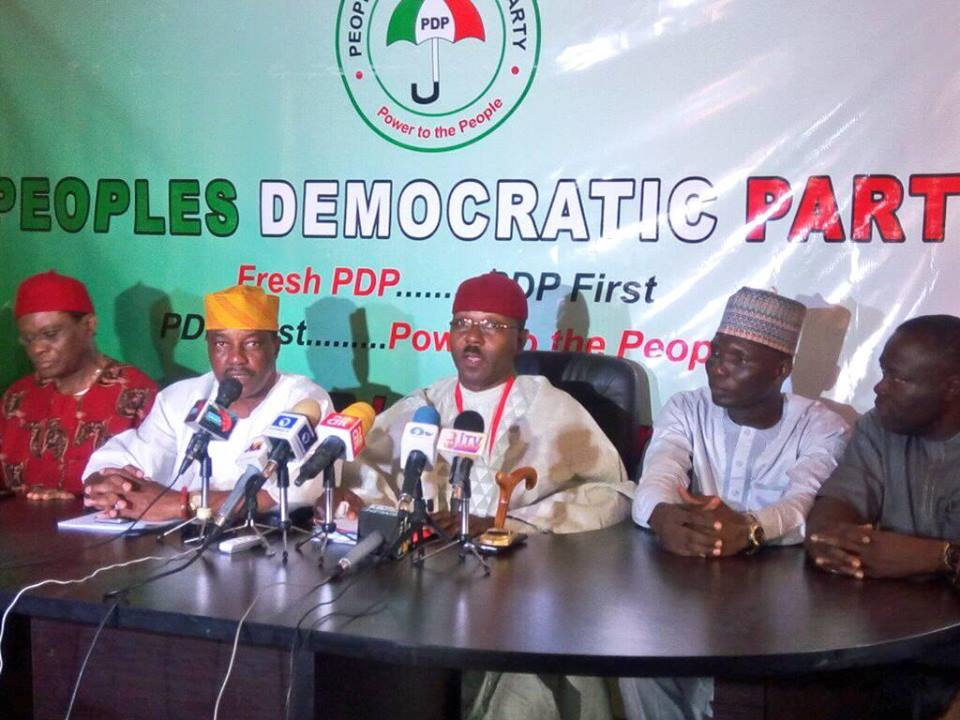 Fresh crisis in PDP as new faction of the party has emerged, see photos from their press conference