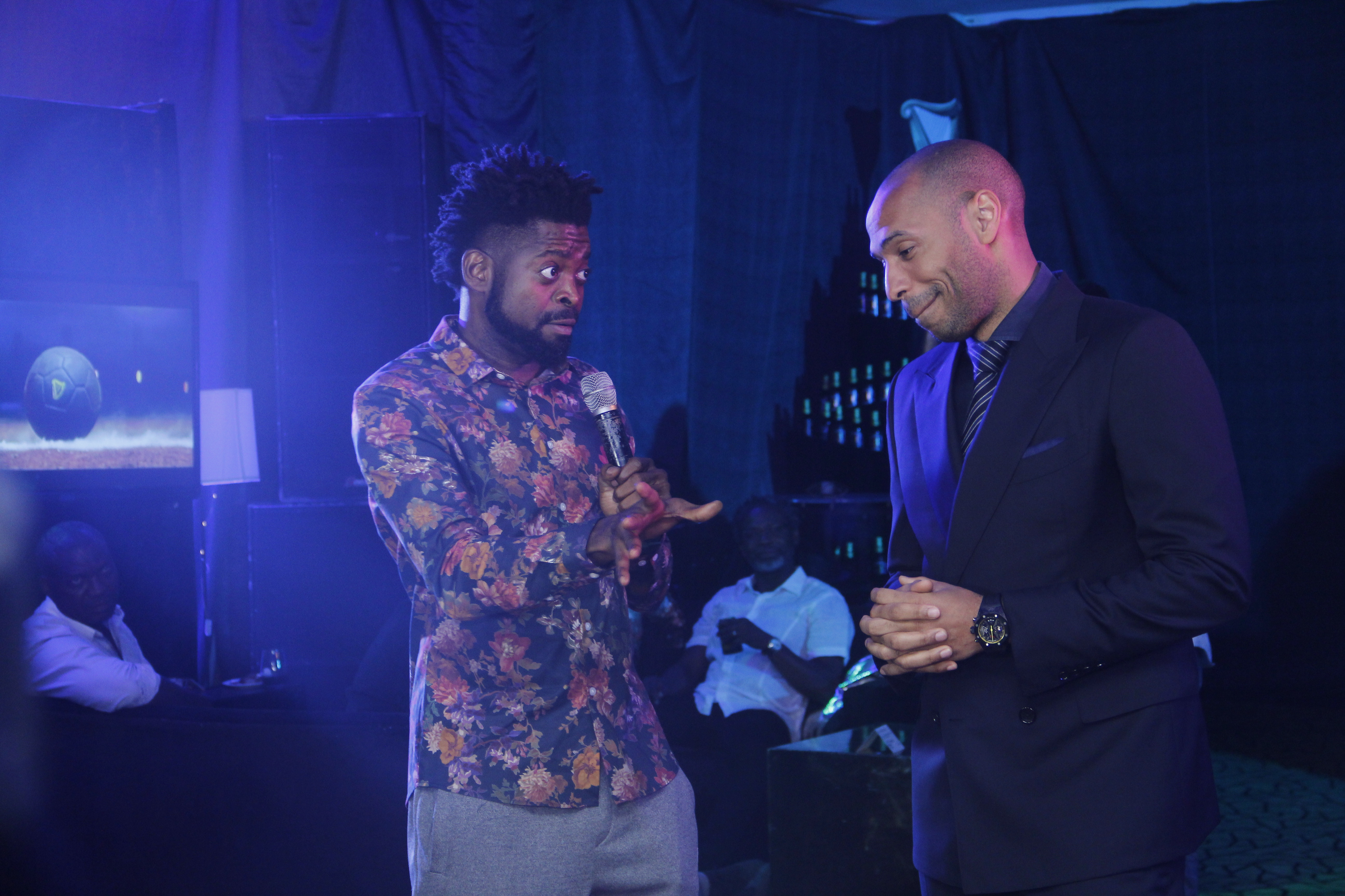 Guinness and Thierry Henry hosts Made of Black Nigerians at ?The Black pass