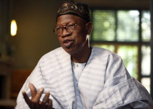 Lai Mohammed says,