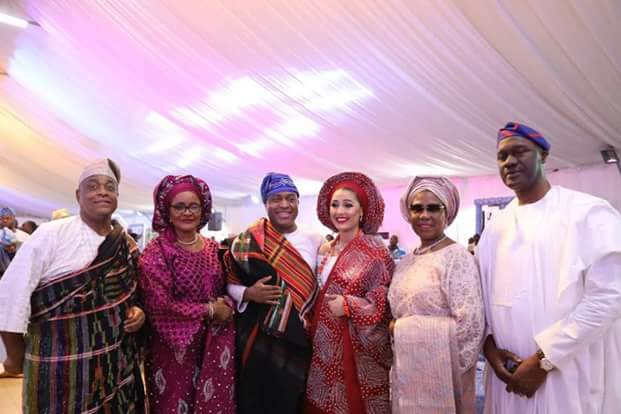 Photos from the engagement ceremony of late Stella Obasanjo