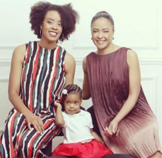 Adorable three generation photo!