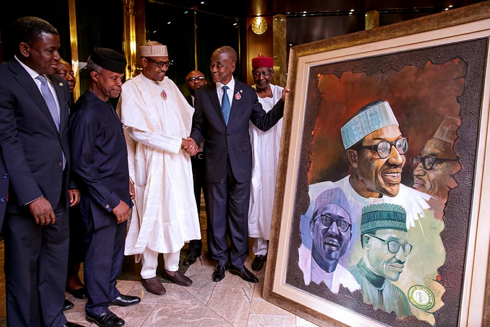 Photos: President Buhari receives the leadership of the Nigerian Bar Association at the State House
