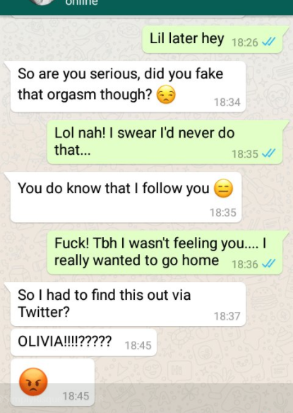 See what happened after Nigerian lady went on Twitter to say she faked orgasm to get enough cab money