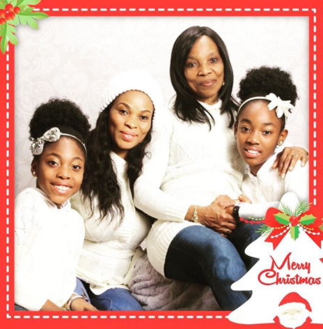 3 Generations: Georgina Onuoha shares beautiful photo with her mother and daughters