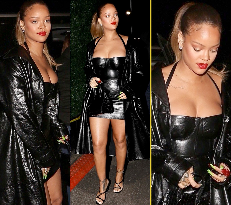 Rihanna was all shades of gorgeous at Jay Z