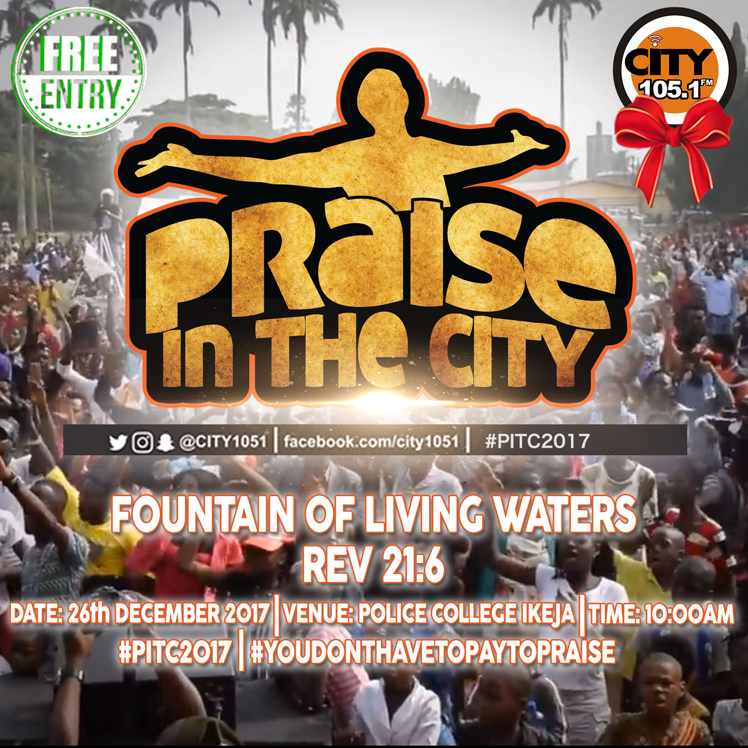 City 105.1 FM presents this year