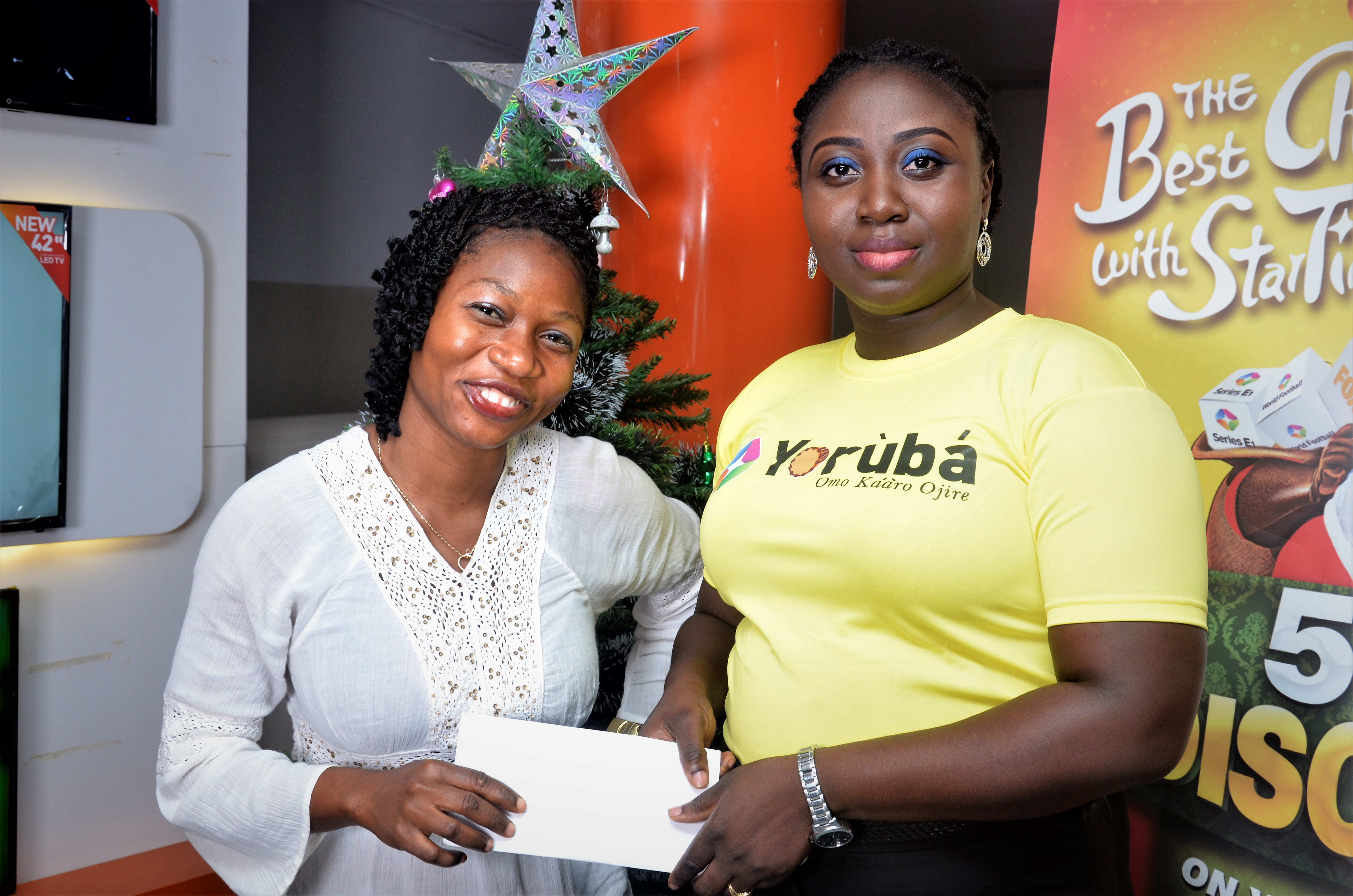 Don?t dull yourself in the ST Yoruba New Year Watch & Win Promo