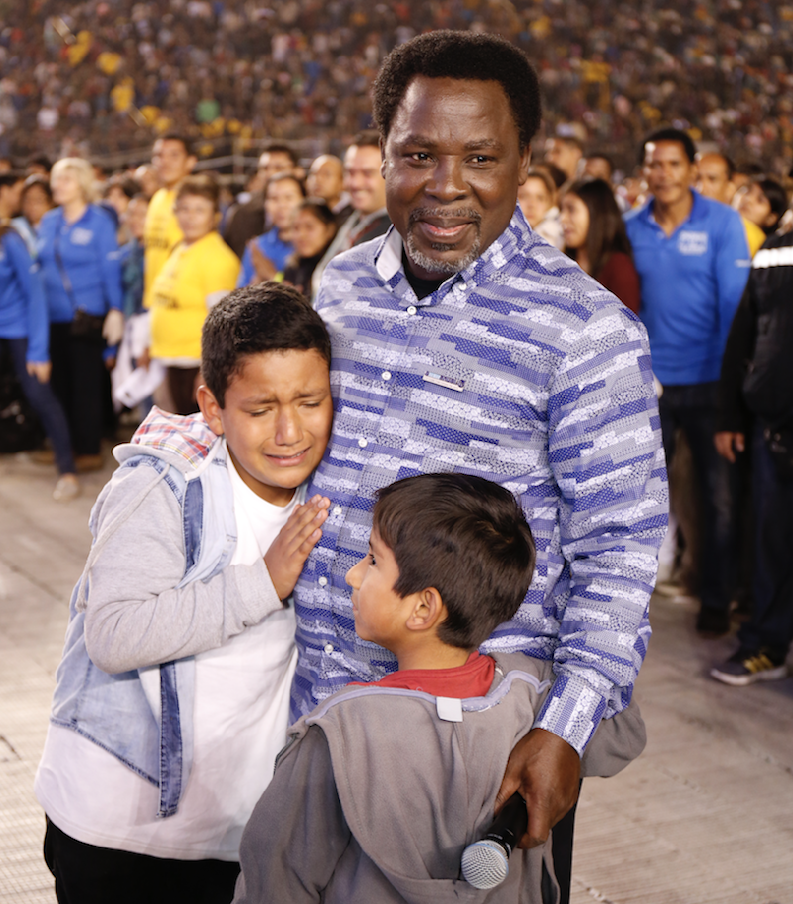 Pastor TB Joshua reveals the cause of world poverty
