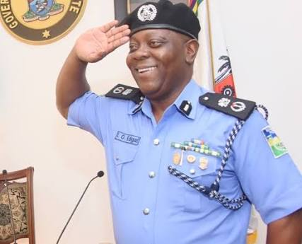 Lagos state Commissioner of Police Imohimi Edgal named