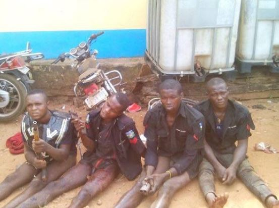Armed robbery gang dressed in police uniforms arrested in Enugu State