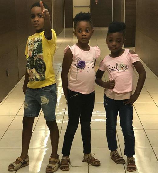 Timi Dakolo shares adorable photos of his kids